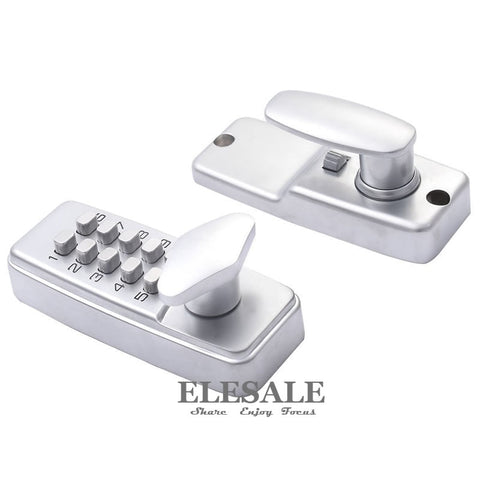 New Keyless Door Lock With Combination Code Password Zinc Alloy Mechanical Digital Code Unlock Home Safe