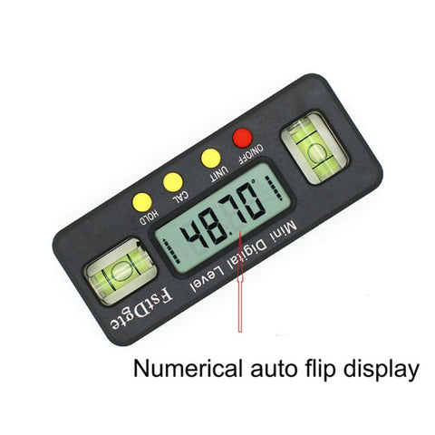 Mini Digital Protractor Angle Finder Inclinometer Electronic Level with Magnetic