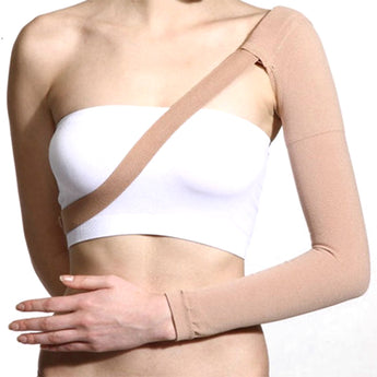 Post Mastectomy Compression Sleeve, Anti Swelling Support Edema Swelling Lymphedema Health Brace M/L/XL