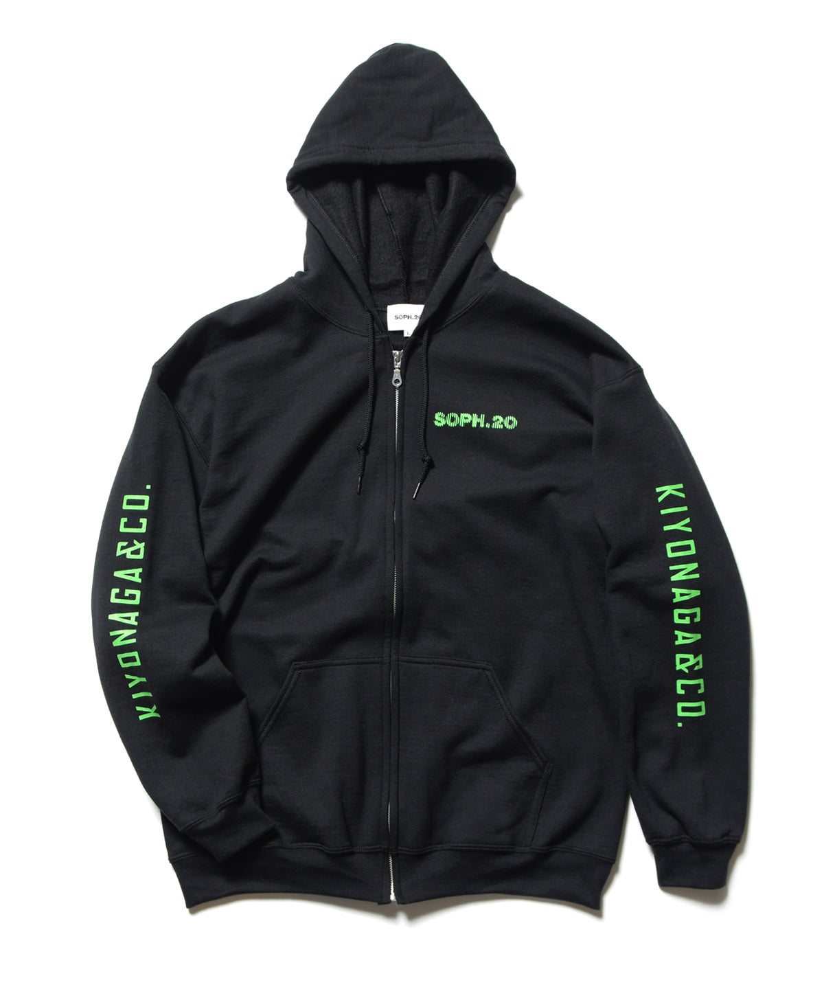 SOPH.20 ZIP UP SWEAT PARKA
