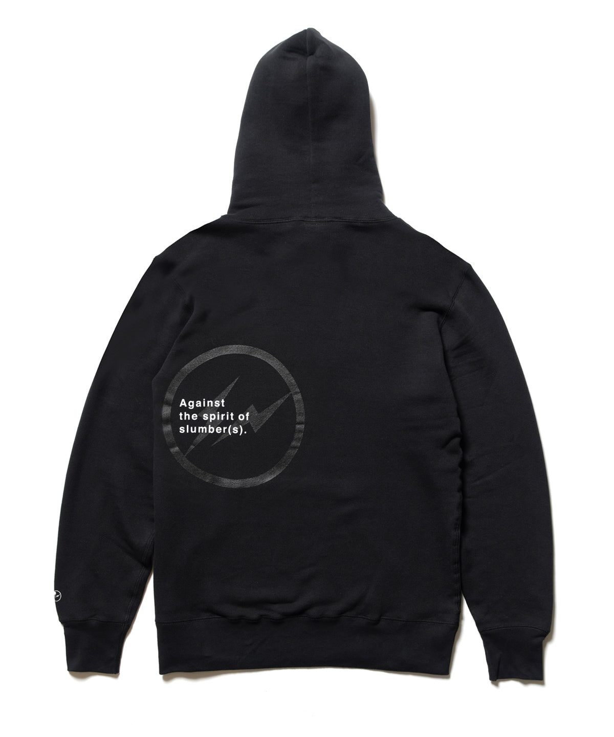 NFRGMT BLACK SWEAT PARKA