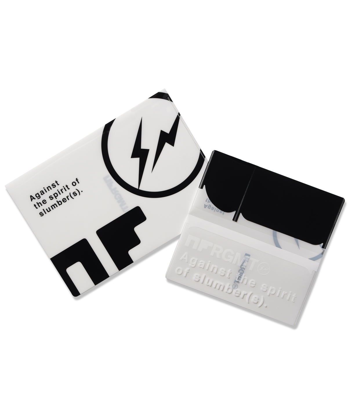 NFRGMT BLACK A4 & TICKET SIZE FILE SET