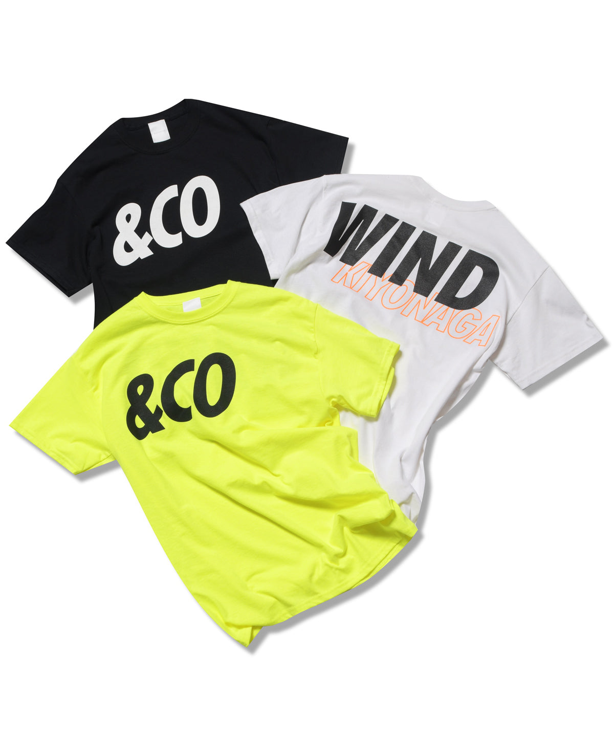 &CO WIND KIYONAGA TEE