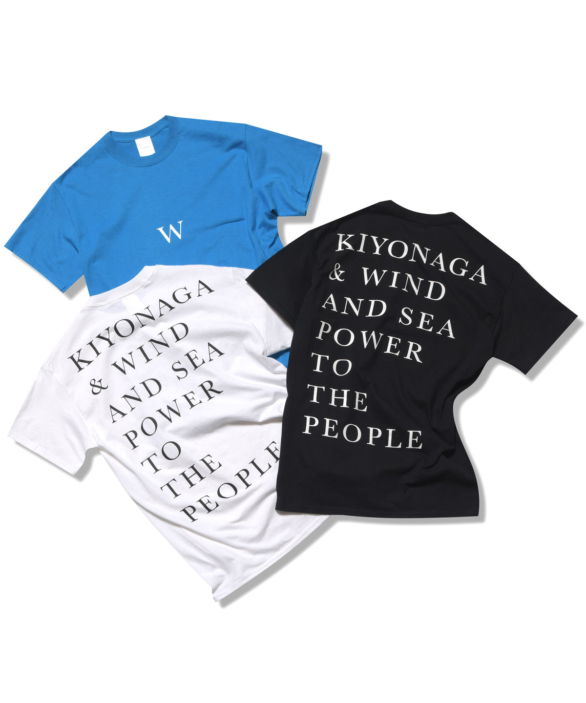 W POWER TO THE PEOPLE TEE