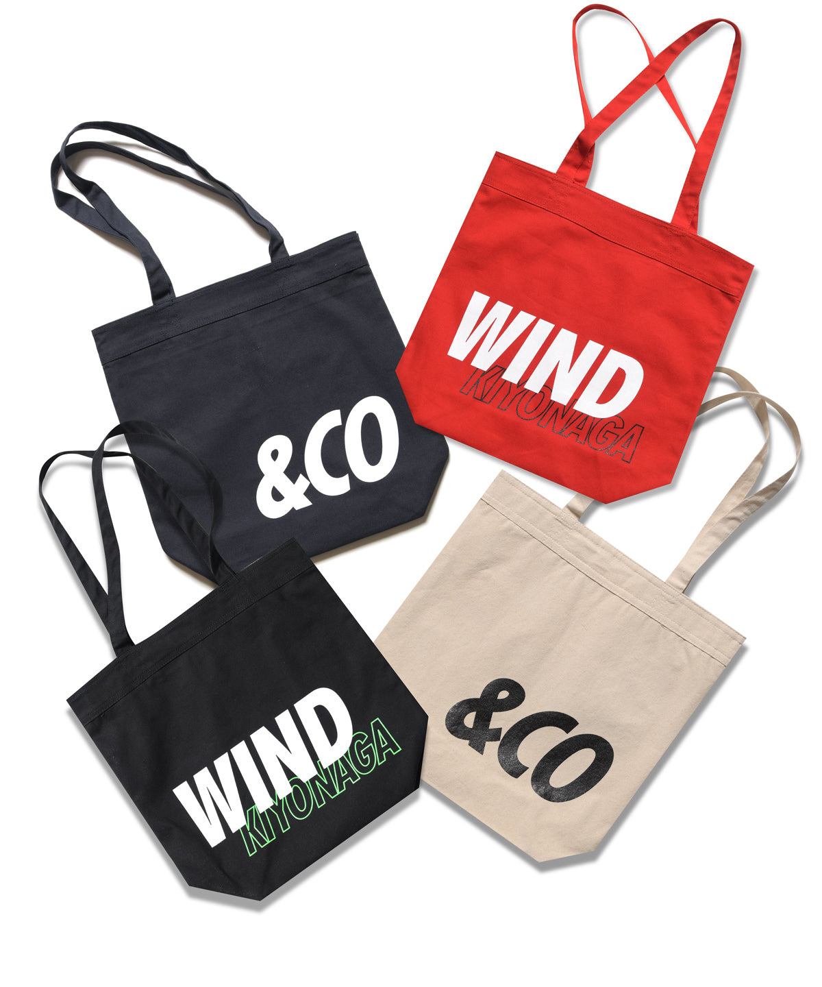 &CO WIND KIYONAGA TOTE BAG