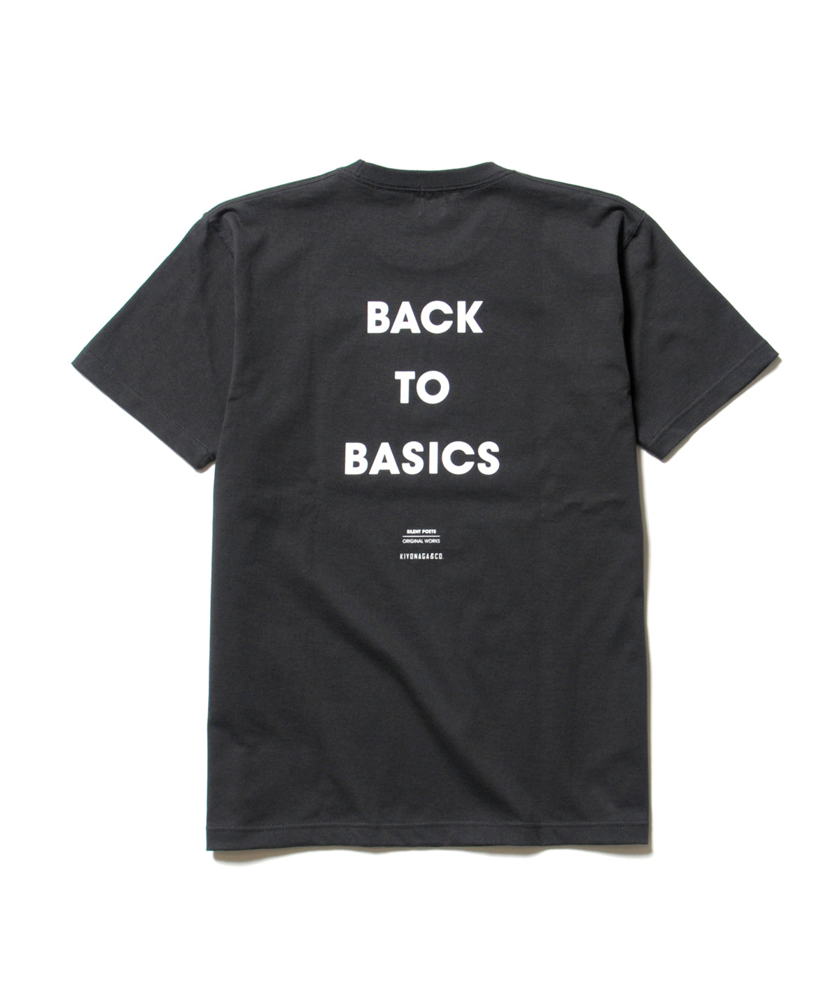 SILENT POETSORIGINAL WORKS / BACK TO LIFE TEE