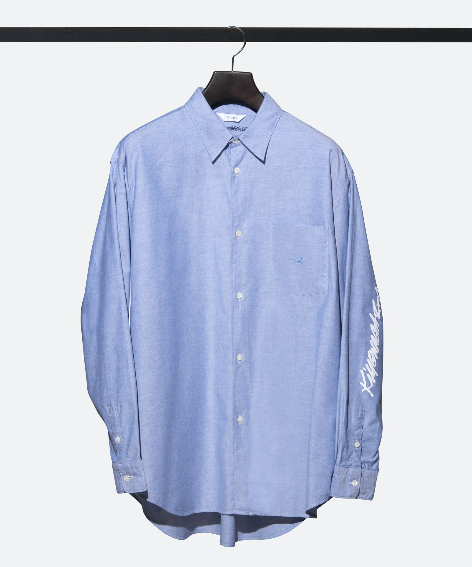 FUJITO B/S SHIRT Signature By YOICHIRO UCHIDA - BLUE