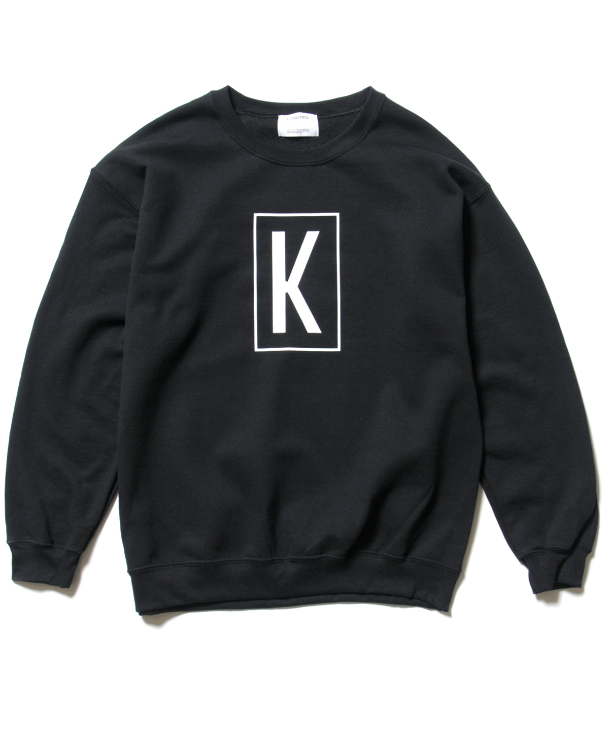 BOX K LOGO CREWNECK SWEAT