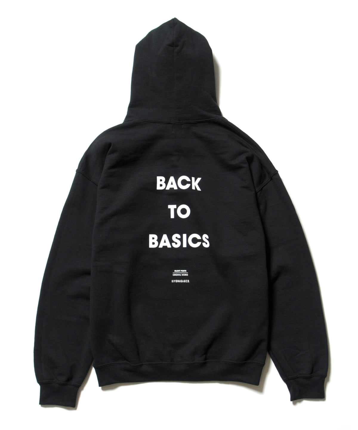 SILENT POETS ORIGINAL WORKS / BACK TO LIFE HOODIE