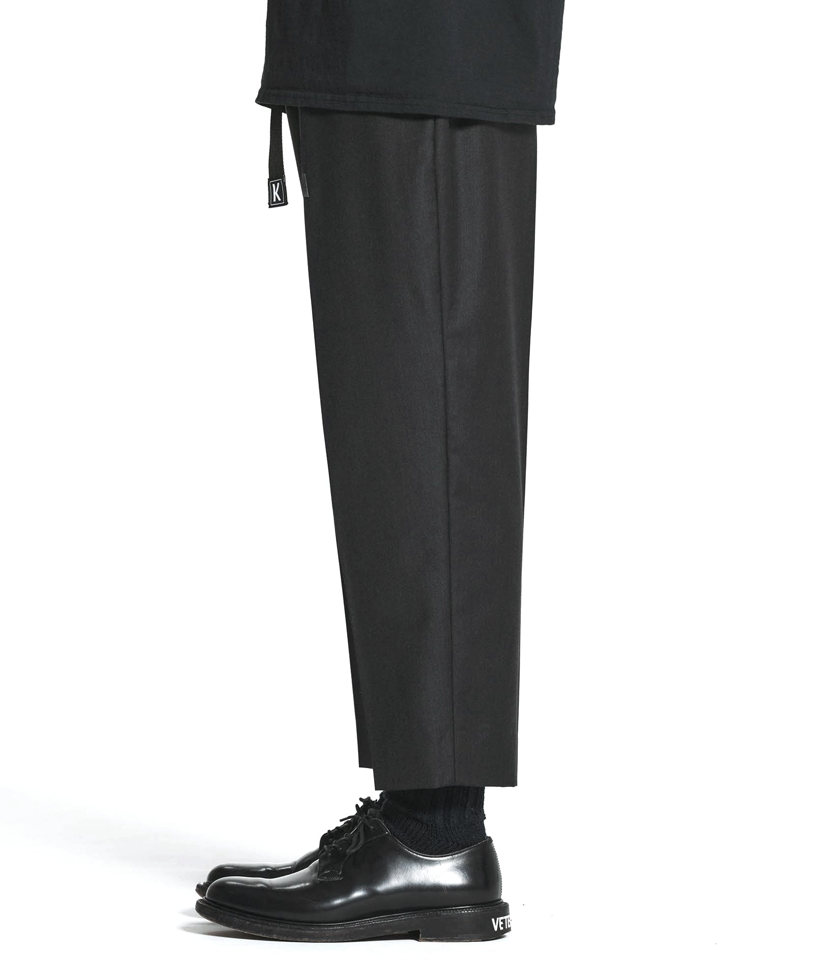 GRAMICCI WIDE CROPPED EASY SLACKS BY LORO PIANA