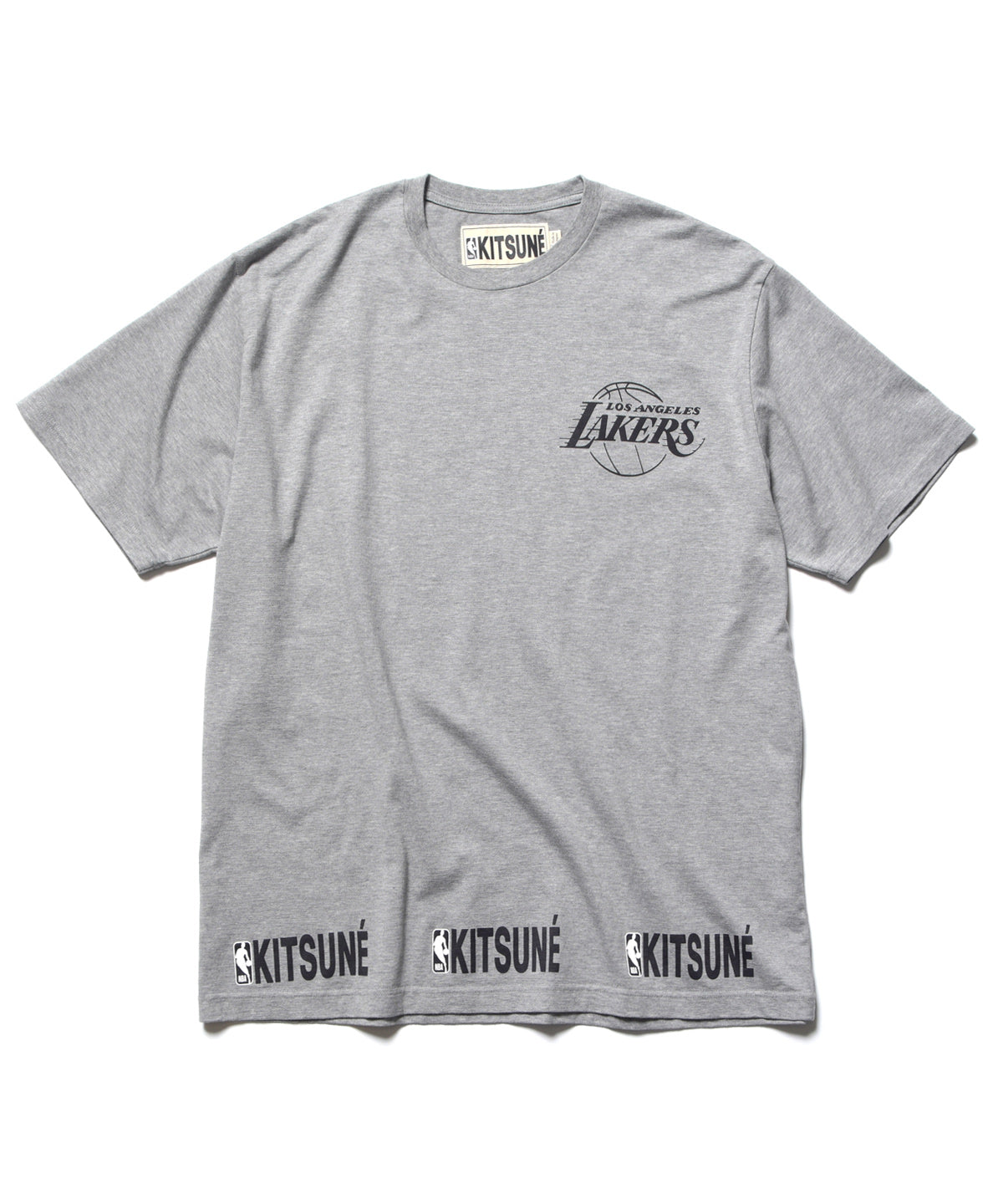 MAISON KITSUNÉ x NBA LAKERS TEE