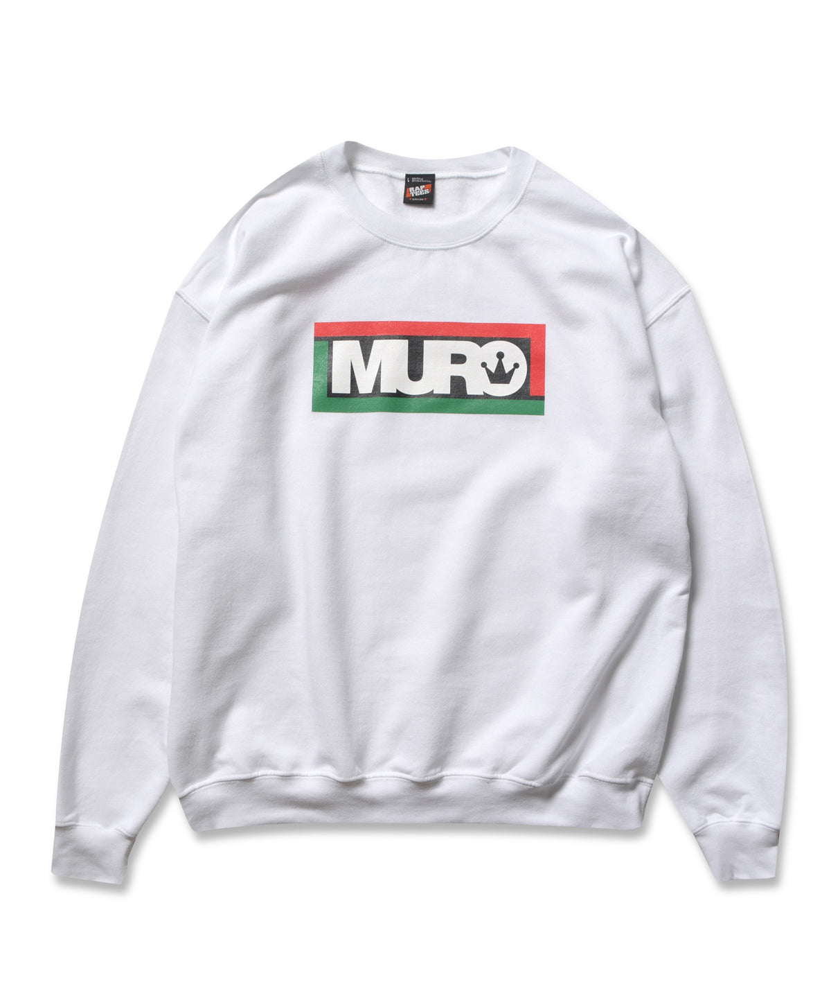 RAP TEES x DJ MURO for KIYONAGA&CO. CREWNECK SWEAT