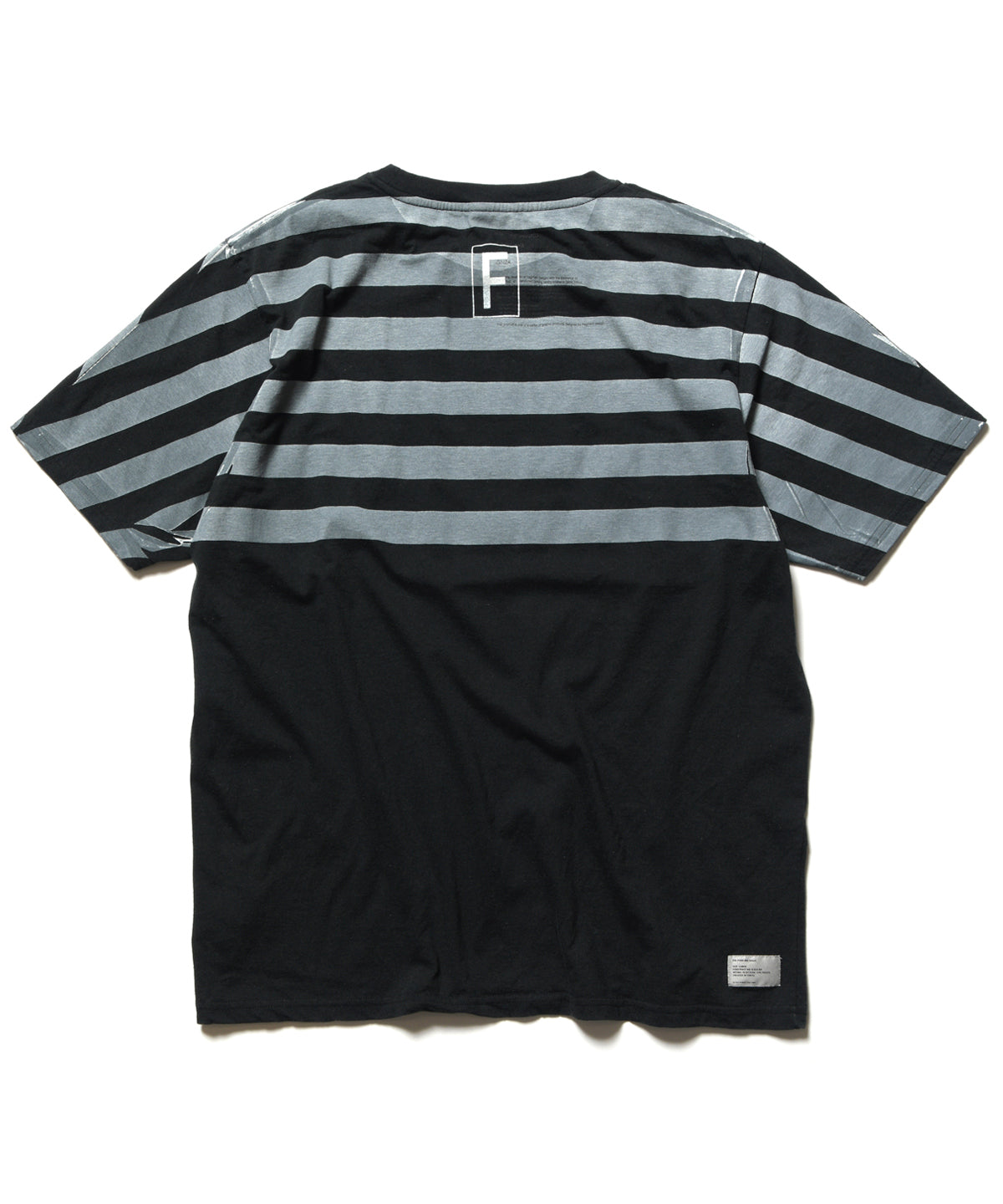 "POOL AOYAMA & PARKING GINZA ""DEAD STOCK"" BORDER RE-MAKE TEE"