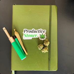 Productive Stoner Sticker
