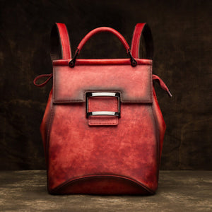 Multifunctional retro backpack
