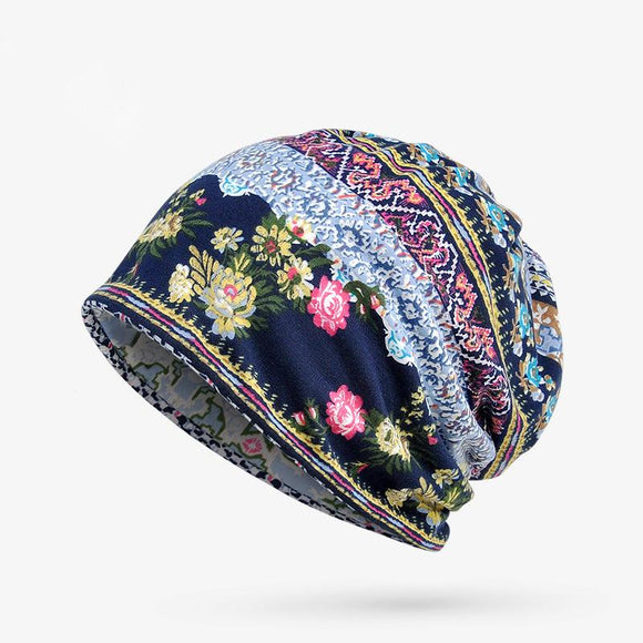 Spring Thin Women Adult Floral Prints Hat
