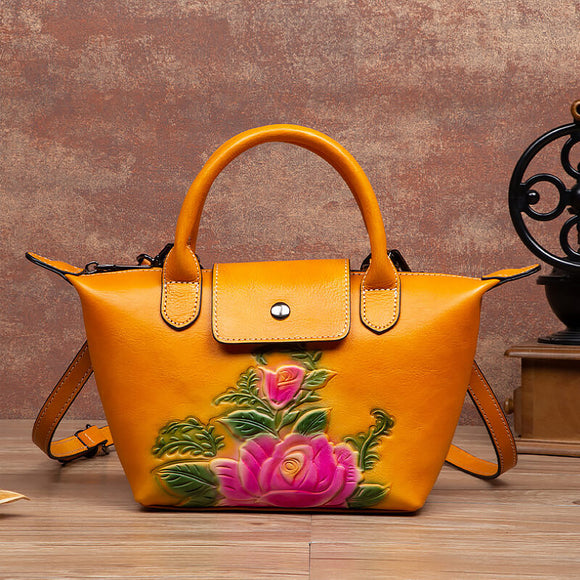 Fashion flower handbag