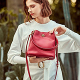 Large capacity casual bucket bag