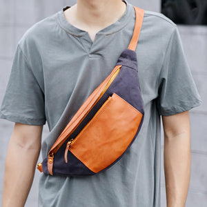 Outdoor sports chest bag waist bag