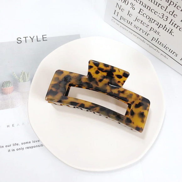 Oversized geometric hair clips-10.5cm