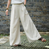Casual Yoga Style Wide Leg Pants