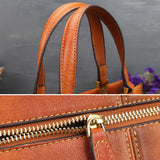 Colorful retro rub color handbag-XIAOHECAILUJIANJIANJIAO