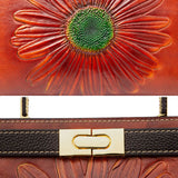 Vintage daisy handbag/crossbody bag