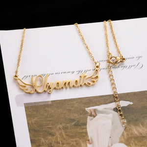 [Customer name] Customized English letter clavicle chain