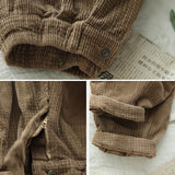 Autumn and winter new style retro corduroy harem pants