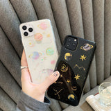 Dream Planet All-Inclusive Soft Shell Phone Case[Suitable for iPhone and Samsung Galaxy brands]
