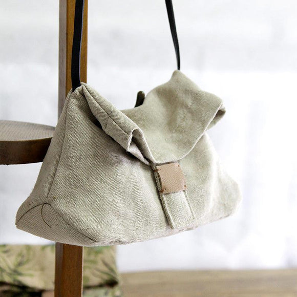 Women Cotton Linen Casual Shoulder Bag