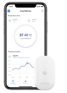 Celsium - wearable temperature monitor