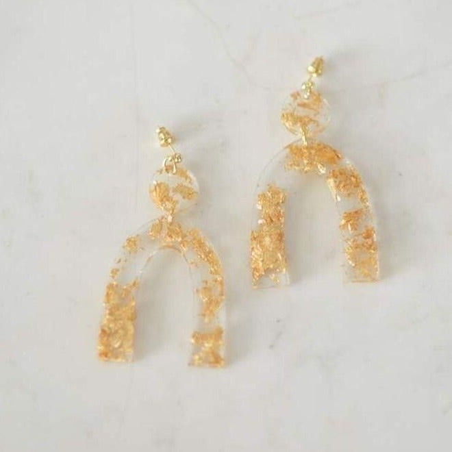 Retro Resin Arches 《Gold》