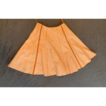 Load image into Gallery viewer, Coral midi tea skirt