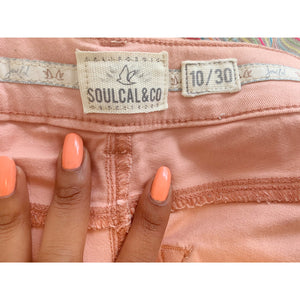 Blush denim skinny mid-rise skinny jeans from Soulcal&Co