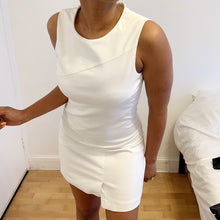 Load image into Gallery viewer, Ivory off white formal mini dress from Zara
