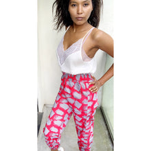 Load image into Gallery viewer, Afrochic Ankara joggers