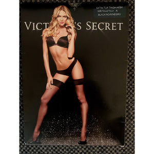 Satin garters by Victoria's secret