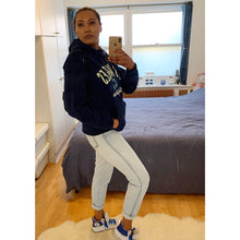 Load image into Gallery viewer, Navy blue LA Hoodie