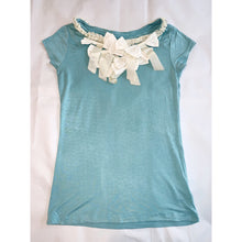 Load image into Gallery viewer, Très chic aqua Tee