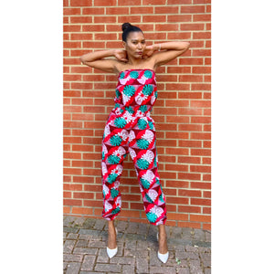Afrochic Ankara jumpsuit by yours truly