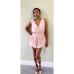 Baby Pink playsuit