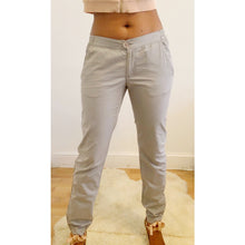 Load image into Gallery viewer, Grey Y2K casual cotton slacks from 2001