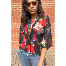 Load image into Gallery viewer, Floral print kimono top by NewLook