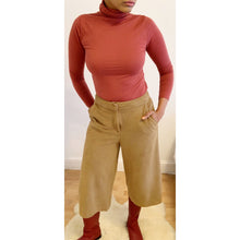 Load image into Gallery viewer, Preloved faux suede culottes by M&S
