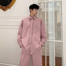 Load image into Gallery viewer, Unisex Pink Belted Trench and Coord