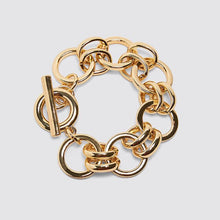 Load image into Gallery viewer, Dvacaman ZA Newest Gold Limited Edition Square Chain Bracelet for Women Fashion Jewelry Friendship Party Charm Bracelets Bangle