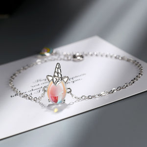Cute Unicorn Bracelet for Girls and ladies Romantic vibes.