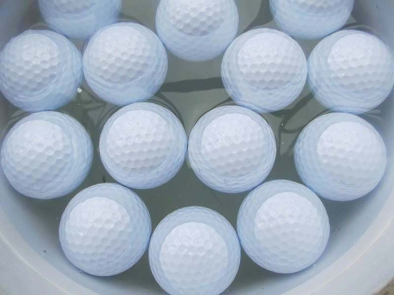 Hot Sale Two Layer  Plain Floating Golf Ball