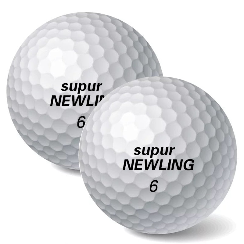 10pcs/lot Golf Game Balls Three layers Golf Ball Golf Game Ball Super Long Distance Golf Ball